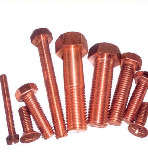 Copper Bolts, Copper CDA 101 Fasteners, Copper Nuts Manufacturer