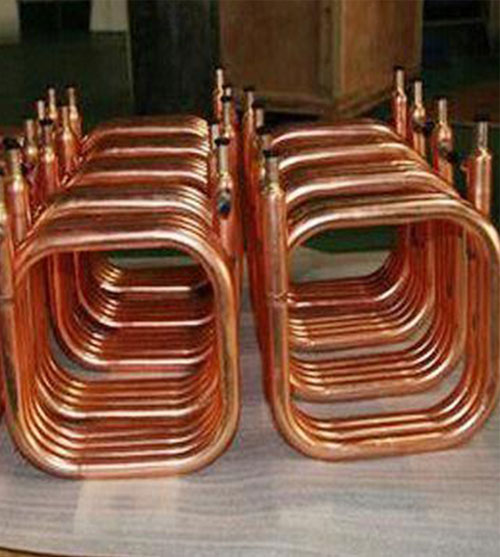 Heat Exchanger Copper Tube Square
