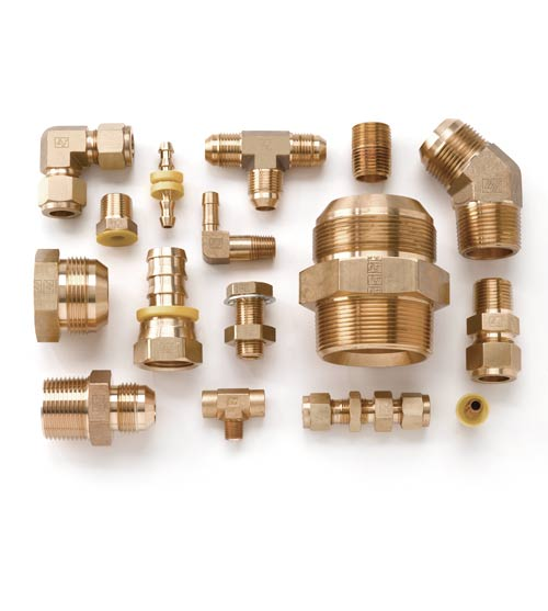 Cupro Nickel Tube to Male Fittings