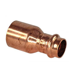 Cu-Ni Press Fittings Reducer