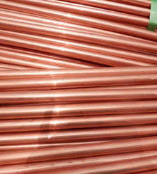 Thick walled Copper Nickel 90/10 tube