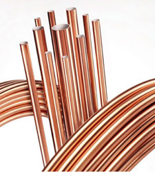 Copper Nickel 90/10 condenser tubes